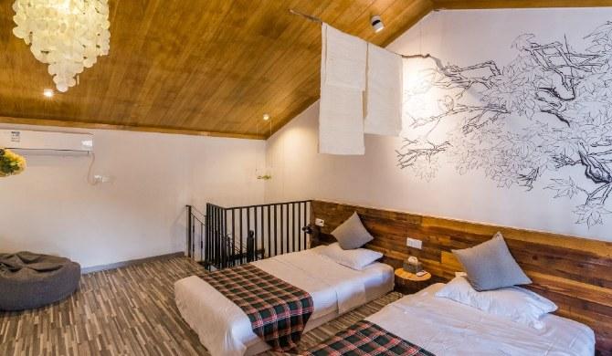 北海涠洲岛青一古民居民宿复式庭院双床房