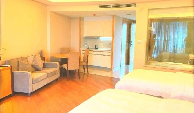 千岛湖米兰时光度假公寓湖景高级双床房