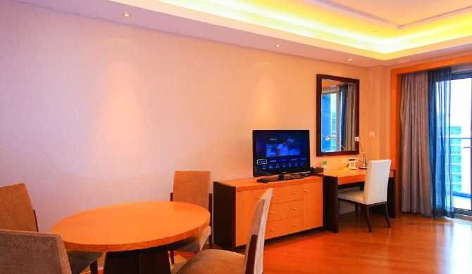 千岛湖米兰时光度假公寓湖景精选大床房