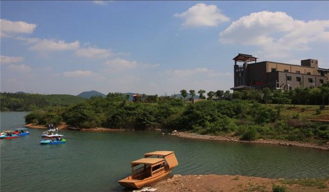 南京江宁区横溪蟠龙湖(赵村水库)