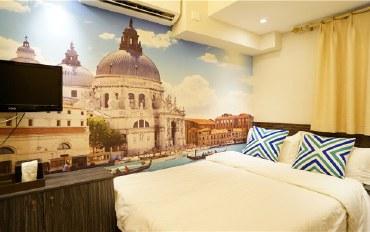 香港酒店公寓住宿:香港铜锣湾百德新街威尼斯大床房
