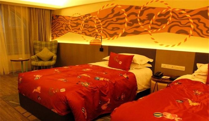 珠海长隆马戏酒店驯兽双床房