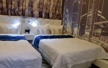 香港酒店公寓住宿:香港1+1精品酒店精致三人房