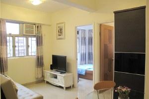 香港旺角2房1厅主题公寓