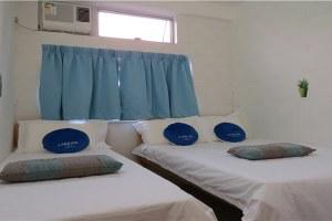 香港旺角海景宾馆家庭三人房