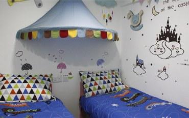 香港酒店公寓住宿:尖沙咀糖果旅舍双床房