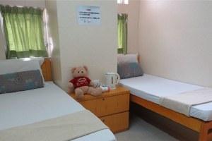 香港旺角天晴宾馆标准双人房