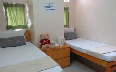 香港酒店公寓住宿:香港旺角天晴宾馆标准双人房
