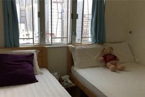香港旺角天天宾馆家庭三人房