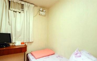 香港酒店公寓住宿:香港中华同乡会宾馆单人房