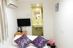 香港尖沙咀豪居旅馆豪华大床房