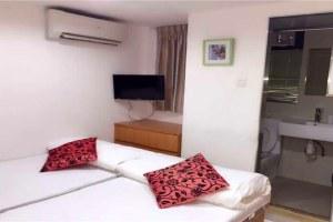 香港尖沙咀豪居旅馆豪华双床房