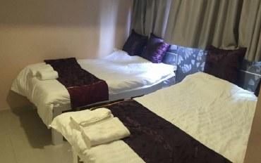 香港酒店公寓住宿:尖沙咀地铁口!敞亮舒适新装四人房