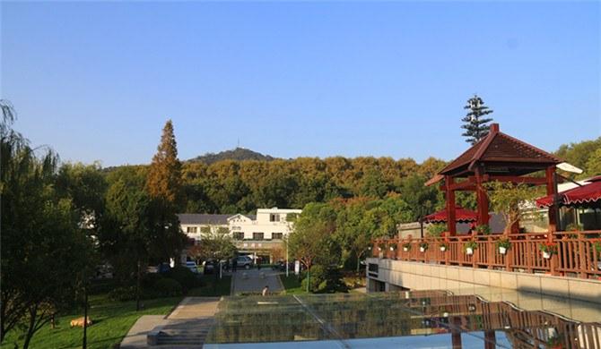 南京钟山风景区琵琶山居舒适标间商户经营
