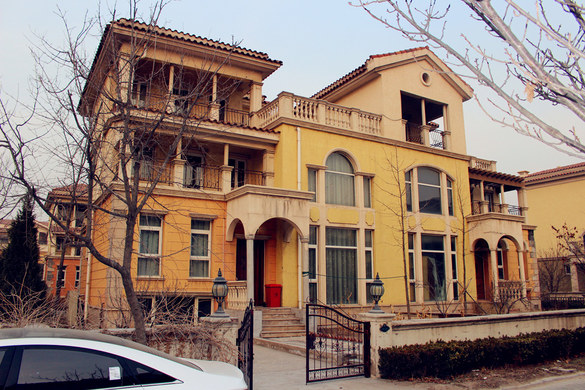 【图】天津东丽湖7号别墅_东丽区短租公寓韩版里别墅男子花样的图图片