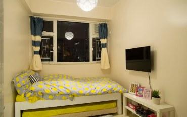 香港酒店公寓住宿:近朗豪坊旺角新装修单间公寓D