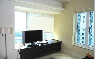 香港酒店公寓住宿:红磡湾畔海韵轩两房一厅公寓