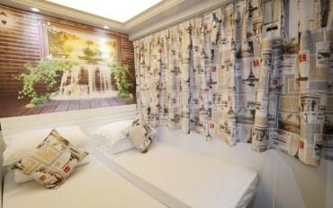 香港酒店公寓住宿:铜锣湾投栈家庭旅馆标准双床房