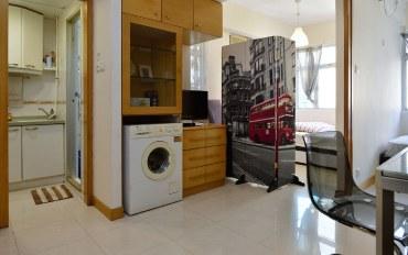 香港酒店公寓住宿:湾仔地铁一房一隔间公寓近会展中心