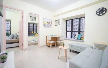 香港酒店公寓住宿:Lex湾仔会展中心附近两房一厅