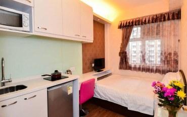 香港酒店公寓住宿:03黄金地段~~靠近湾仔地铁站独立双人房