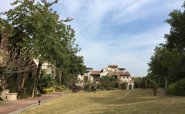 廣州后花園美林湖美宿溫泉社區歐式度假別墅