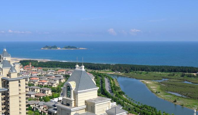 阳江海陵岛恒大温馨靠海阳光园景大床房