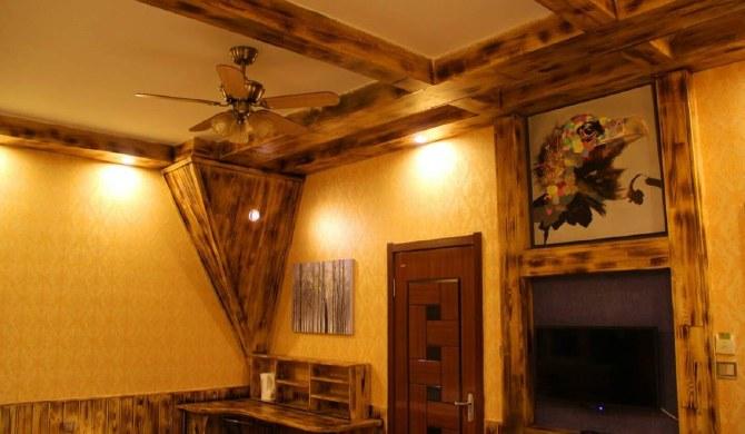 得安满洲里安加尔国际青年旅舍 经典俄式家庭房图片