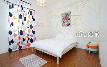 台东酒店公寓住宿:小清新双人房
