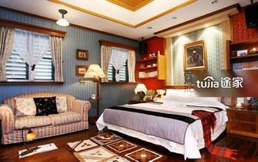 宜兰酒店公寓住宿:豪华双人房 不挑房
