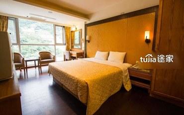 南投酒店公寓住宿:温馨双人房(一大床)