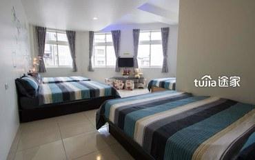 宜兰酒店公寓住宿:整洁八人房