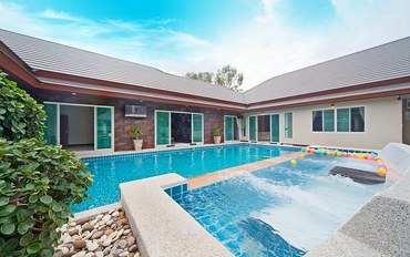 芭提雅酒店公寓住宿:私人泳池为乐趣而建 6卧室