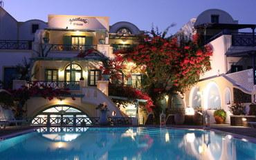 圣托里尼岛圣托里尼水上公园附近酒店公寓住宿:阿纳斯塔西亚公主公寓