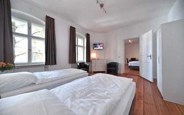 柏林酒店公寓住宿:格雷福斯瓦尔德斯塔拉斯旧城公寓