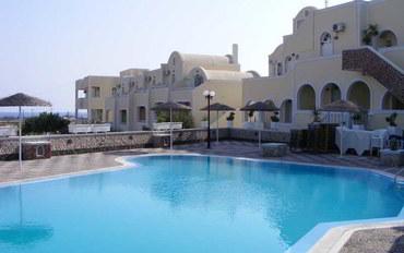 圣托里尼岛圣托里尼水上公园附近酒店公寓住宿:佩里沃洛斯桑迪度假村