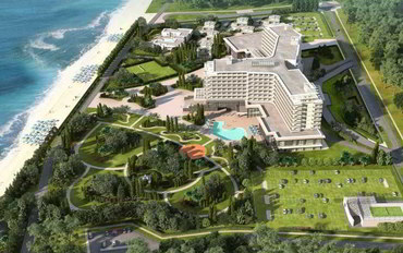 索契酒店公寓住宿:丽笙布鲁天堂度假胜地及水疗中心