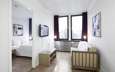 哥本哈根酒店公寓住宿:第一G旅馆和套房