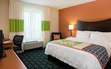 温尼伯酒店公寓住宿:温尼伯费尔菲尔德套房