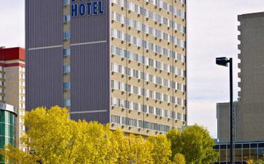 埃德蒙顿酒店公寓住宿:堪帕斯大楼套房公寓