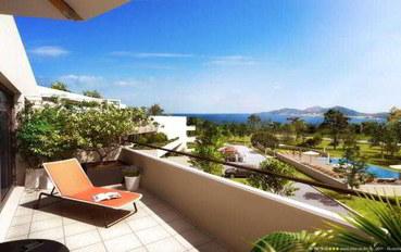 科西嘉岛酒店公寓住宿:波提西欧套房