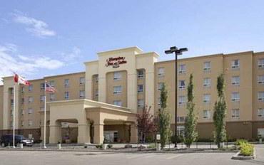 埃德蒙顿酒店公寓住宿:埃德蒙顿西汉普顿套房