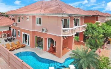 芭提雅酒店公寓住宿:Baan Nomella豪华四卧私人别墅带水流按摩泳池