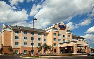 查塔努加酒店公寓住宿:查塔努加I-24州际公路/观景峰费尔菲尔德套房