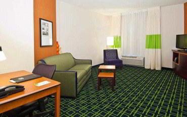 俄克拉何马城酒店公寓住宿:俄克拉荷马市育空费尔菲尔德套房