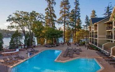 旧金山酒店公寓住宿:艾伦海德湖温泉度假村