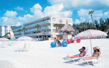 萨拉索塔酒店公寓住宿:丽都湾泳滩沙堡度假村