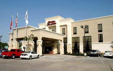 休斯顿酒店公寓住宿:休斯顿凯蒂汉普顿套房公寓