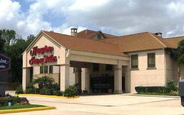 休斯顿酒店公寓住宿:休斯顿塞普勒斯站汉普顿套房