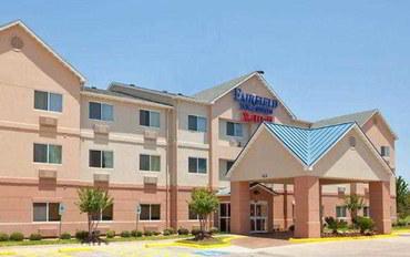 休斯顿酒店公寓住宿:北休斯敦I-45费尔菲尔德套房公寓